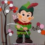Tableau de Chenel - Robin des bois