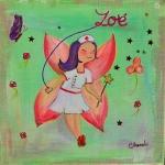 Tableau de Chenel - la petite fée infirmière